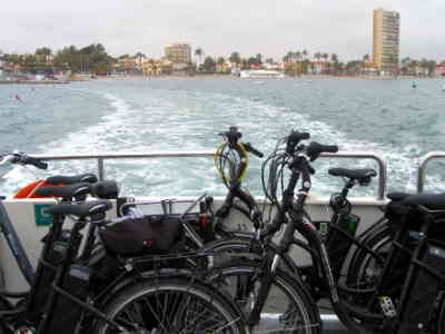 THE COSTA CALIDA BY BIKE AND BOAT