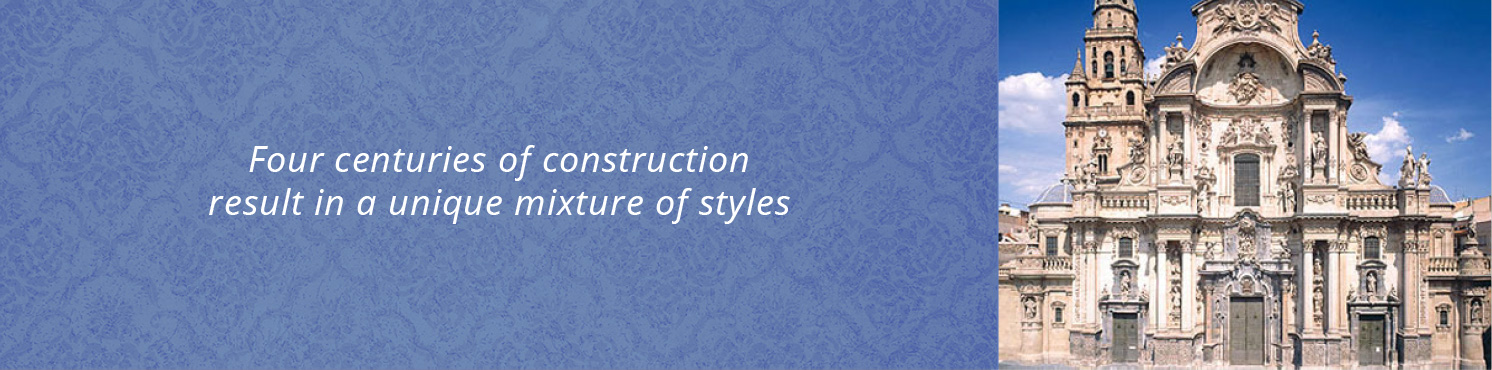 Four centuries of construction result in a unique mixture of styles