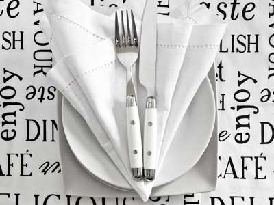 KNIFE AND FORK DISHES
