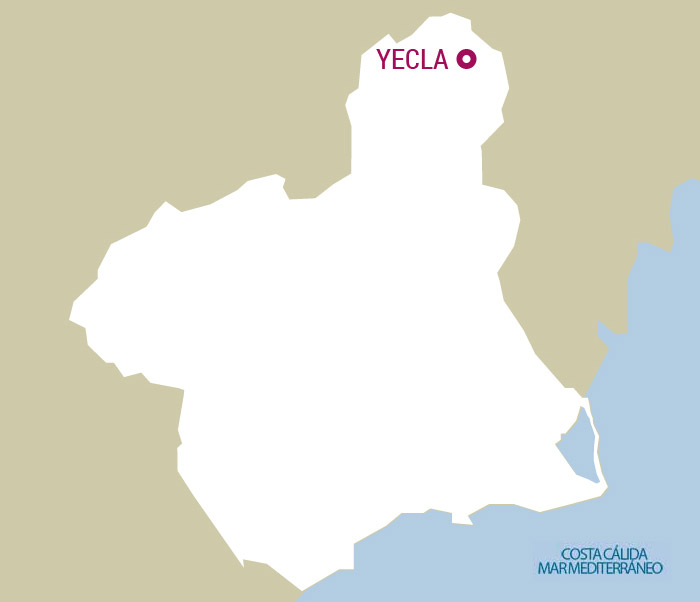 Map Of Yecla Spain.Yecla Official Murcia Region Tourist Site