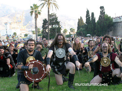 FESTIVITY OF CARTHAGINIANS AND ROMANS
